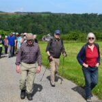 Wandergruppe unterwegs